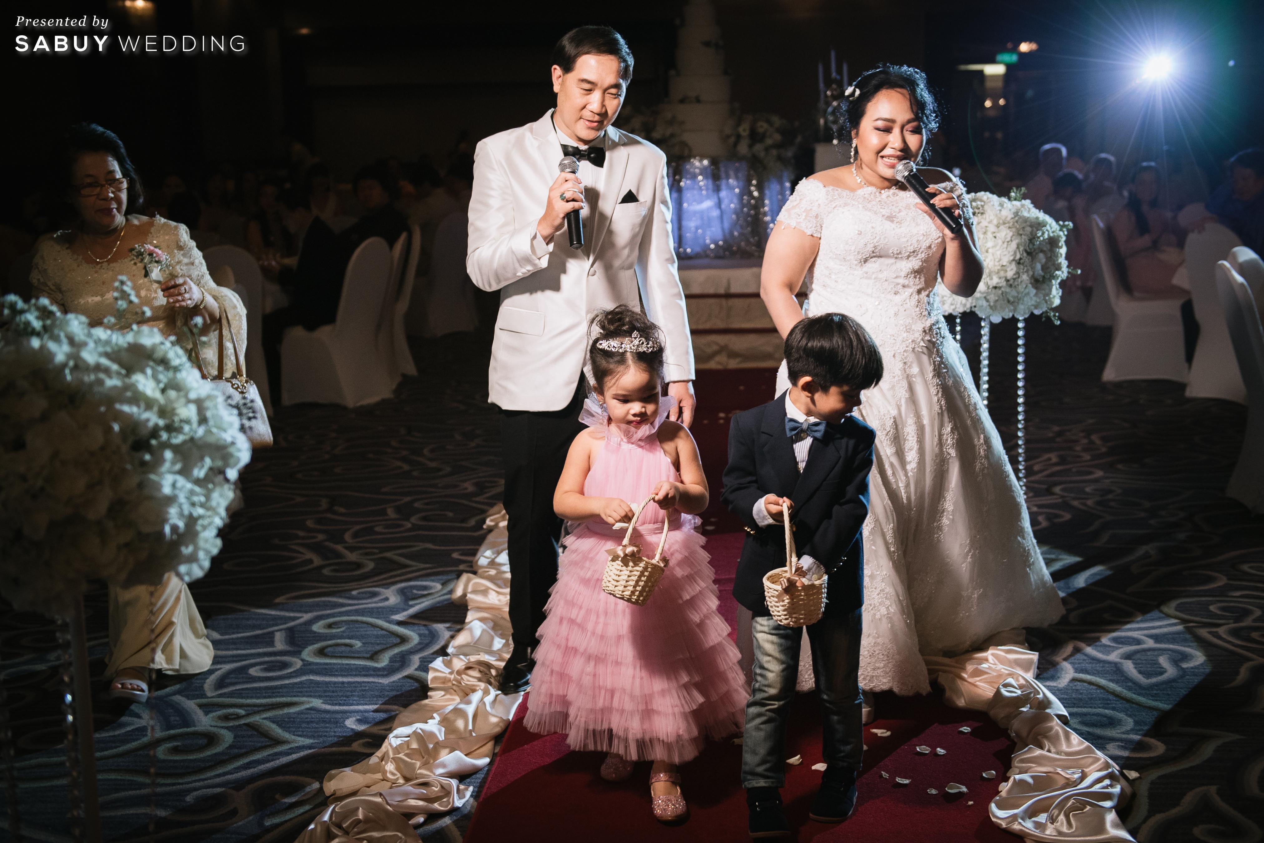 ชุดแต่งงาน,เค้กแต่งงาน,สถานที่แต่งงาน รีวิวงานแต่งสุดคลาสสิก กับกิมมิคแจกของรางวัล @ Narai Hotel