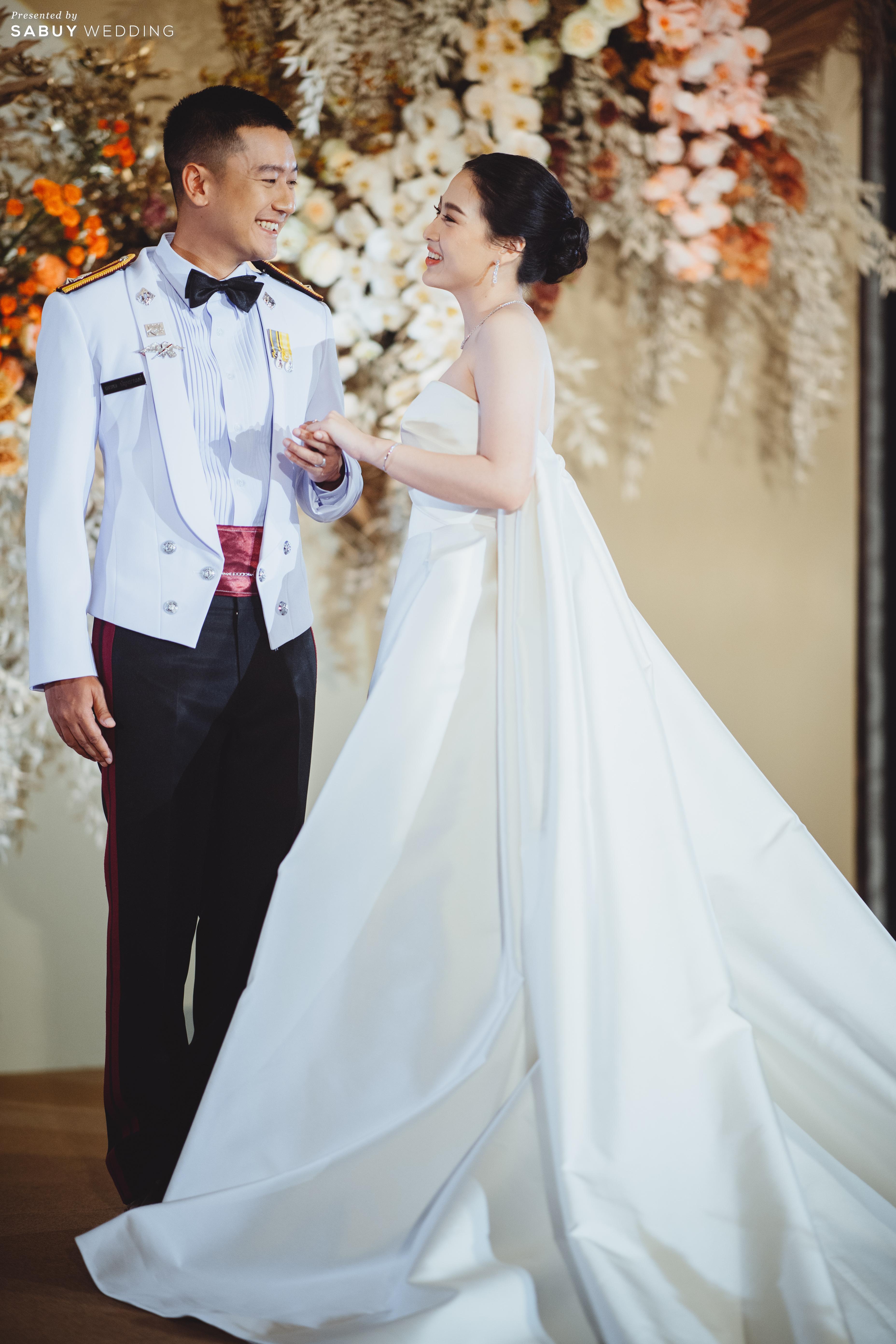 เจ้าสาว,เจ้าบ่าว รีวิวงานแต่งโทนสีแชมเปญ สวยเรียบหรู ดูโมเดิร์น @ Sofitel Bangkok Sukhumvit