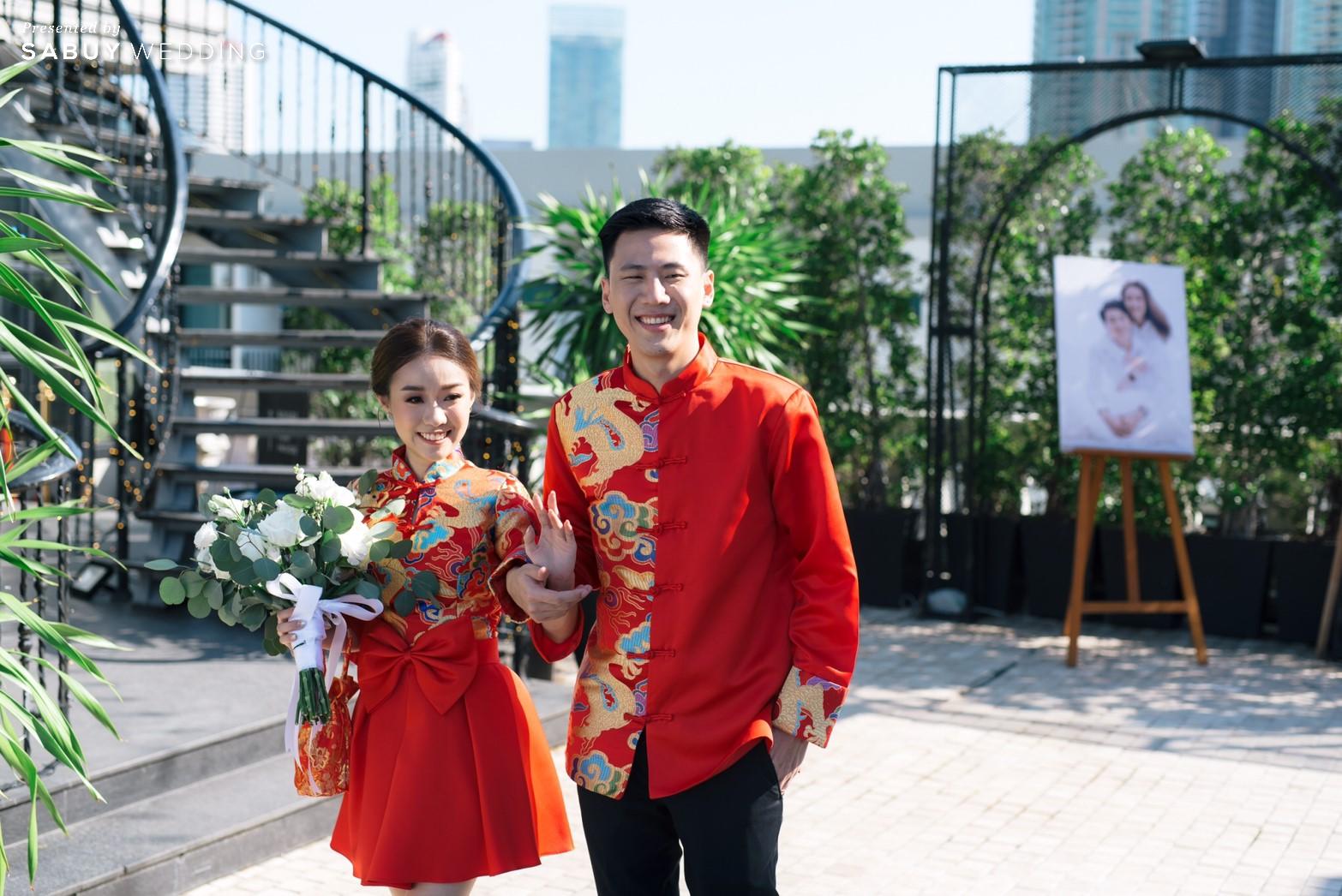 ชุดเจ้าสาว,ชุดแต่งงาน,ชุดเจ้าบ่าว รีวิวงานแต่งสวยวิ้ง ฟรุ้งฟริ้งฉบับงาน Customize @ Hotel Once Bangkok