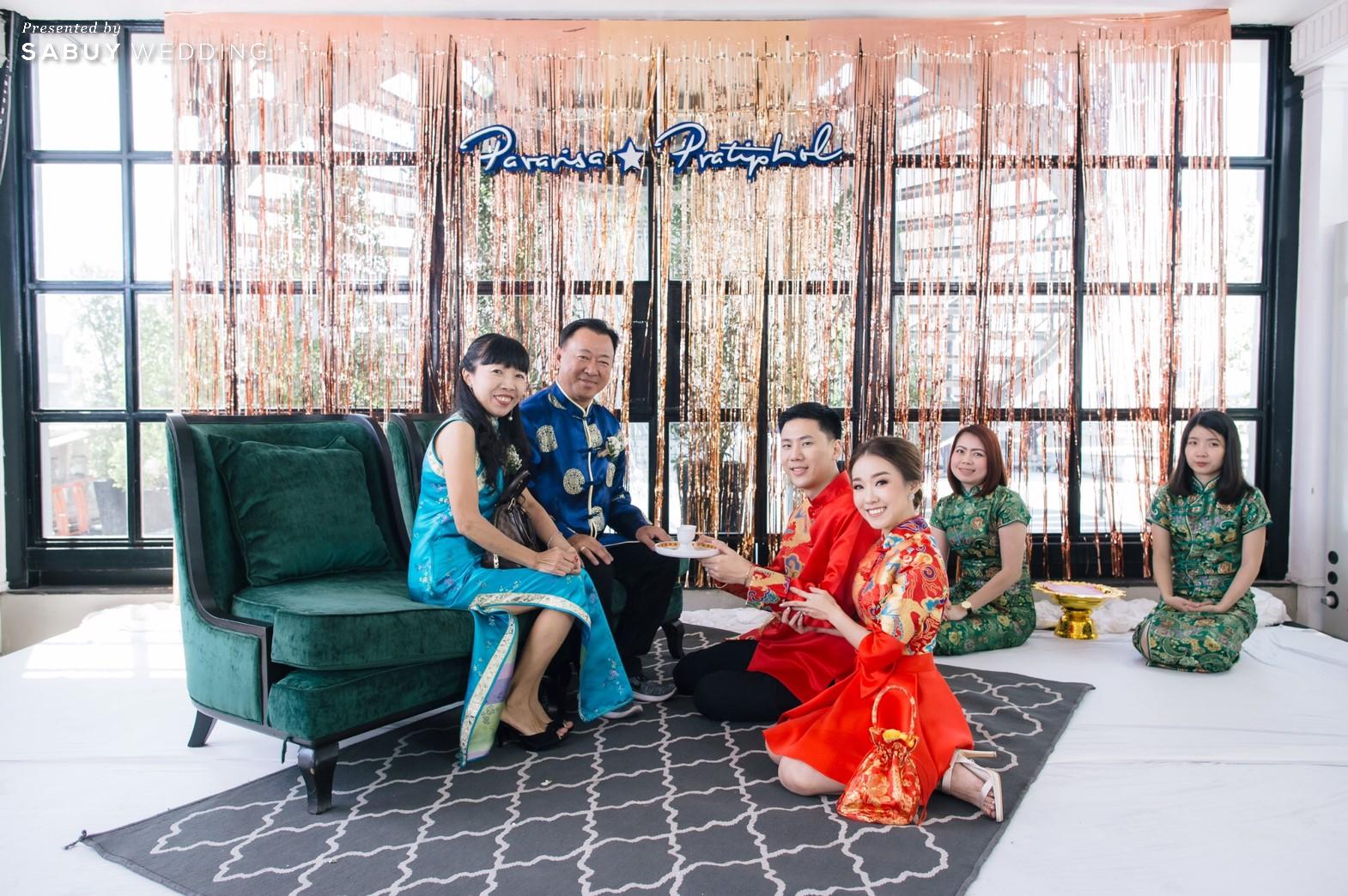 งานแต่งงาน,พิธีจีน,ยกน้ำชา รีวิวงานแต่งสวยวิ้ง ฟรุ้งฟริ้งฉบับงาน Customize @ Hotel Once Bangkok