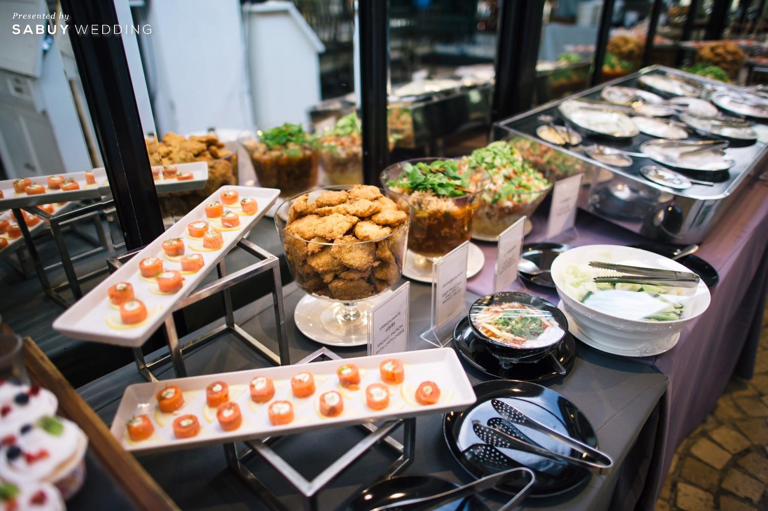 อาหารงานแต่ง รีวิวงานแต่งสวยวิ้ง ฟรุ้งฟริ้งฉบับงาน Customize @ Hotel Once Bangkok