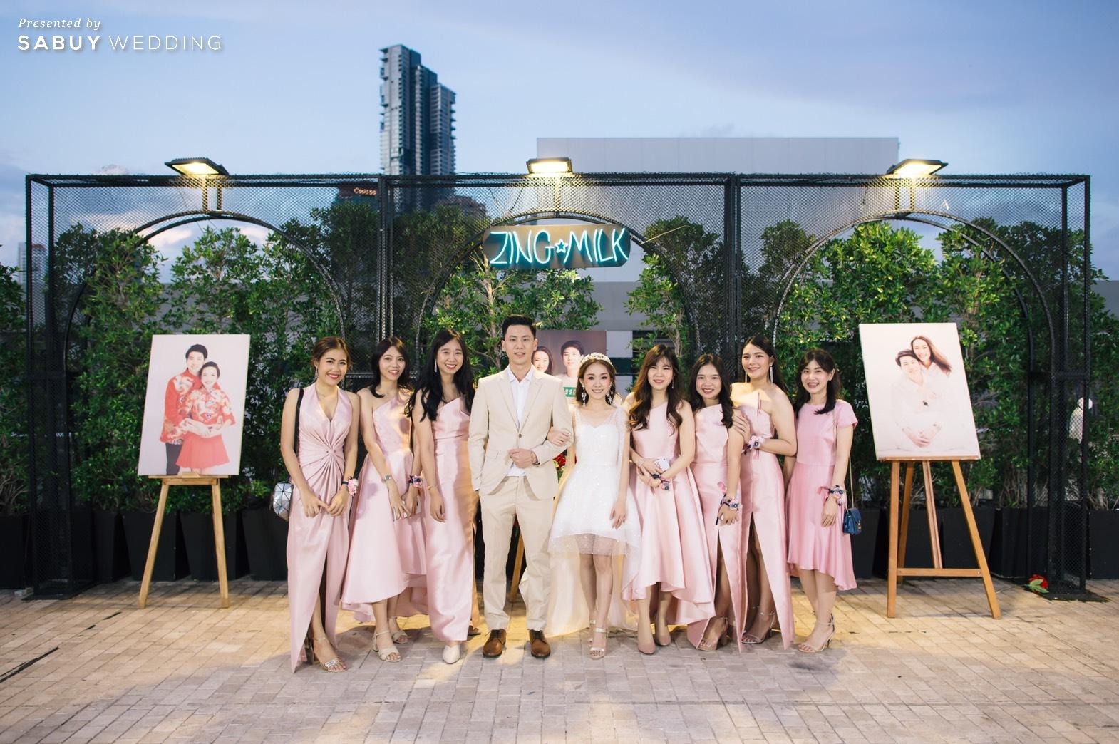 เพื่อนเจ้าสาว รีวิวงานแต่งสวยวิ้ง ฟรุ้งฟริ้งฉบับงาน Customize @ Hotel Once Bangkok