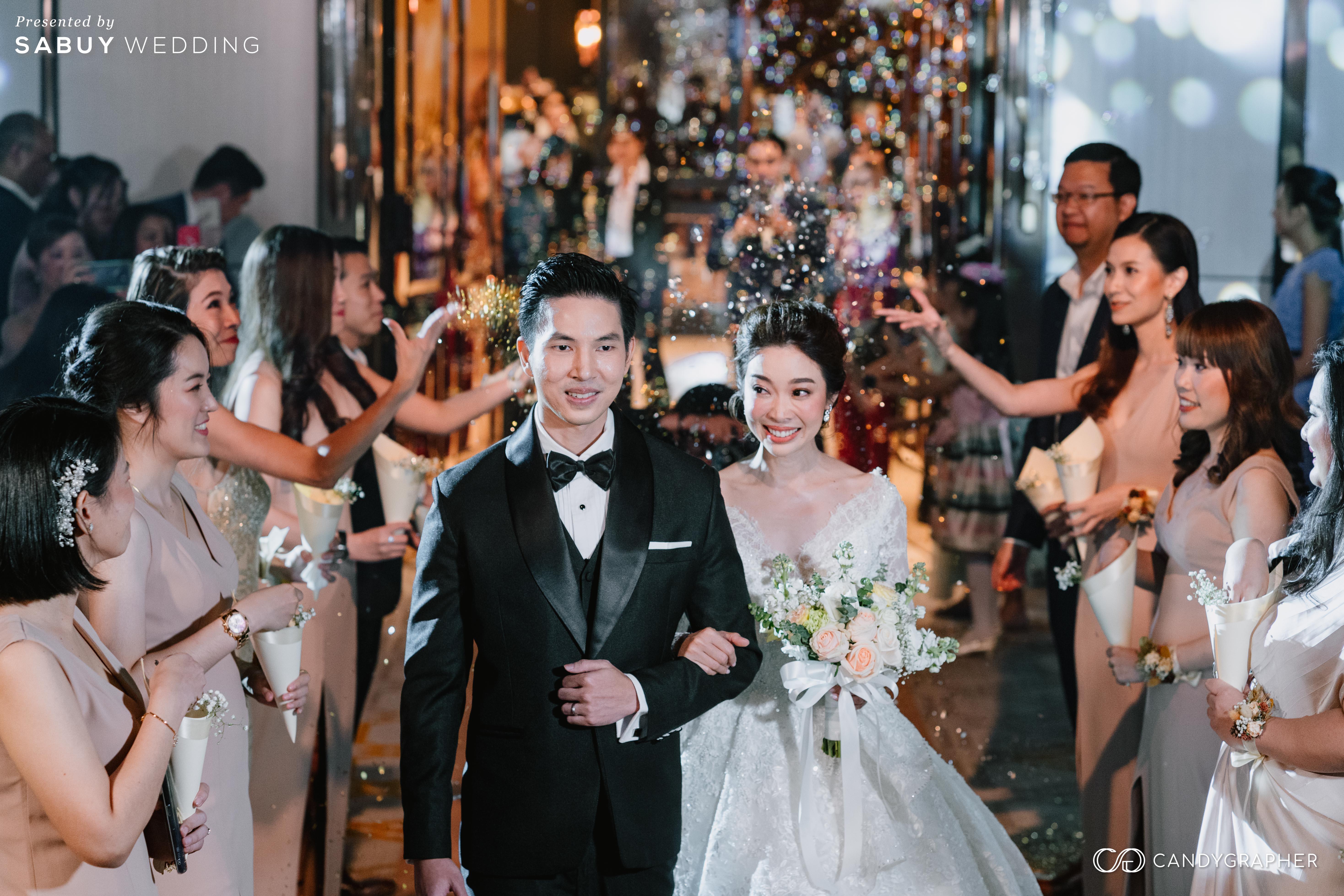 ดอกไม้เจ้าสาว,ชุดแต่งงาน,ชุดเจ้าสาว รีวิวงานแต่งธีมสี Taupe สวยดูดีแบบ Luxury Style @ Hyatt Regency Bangkok Sukhumvit