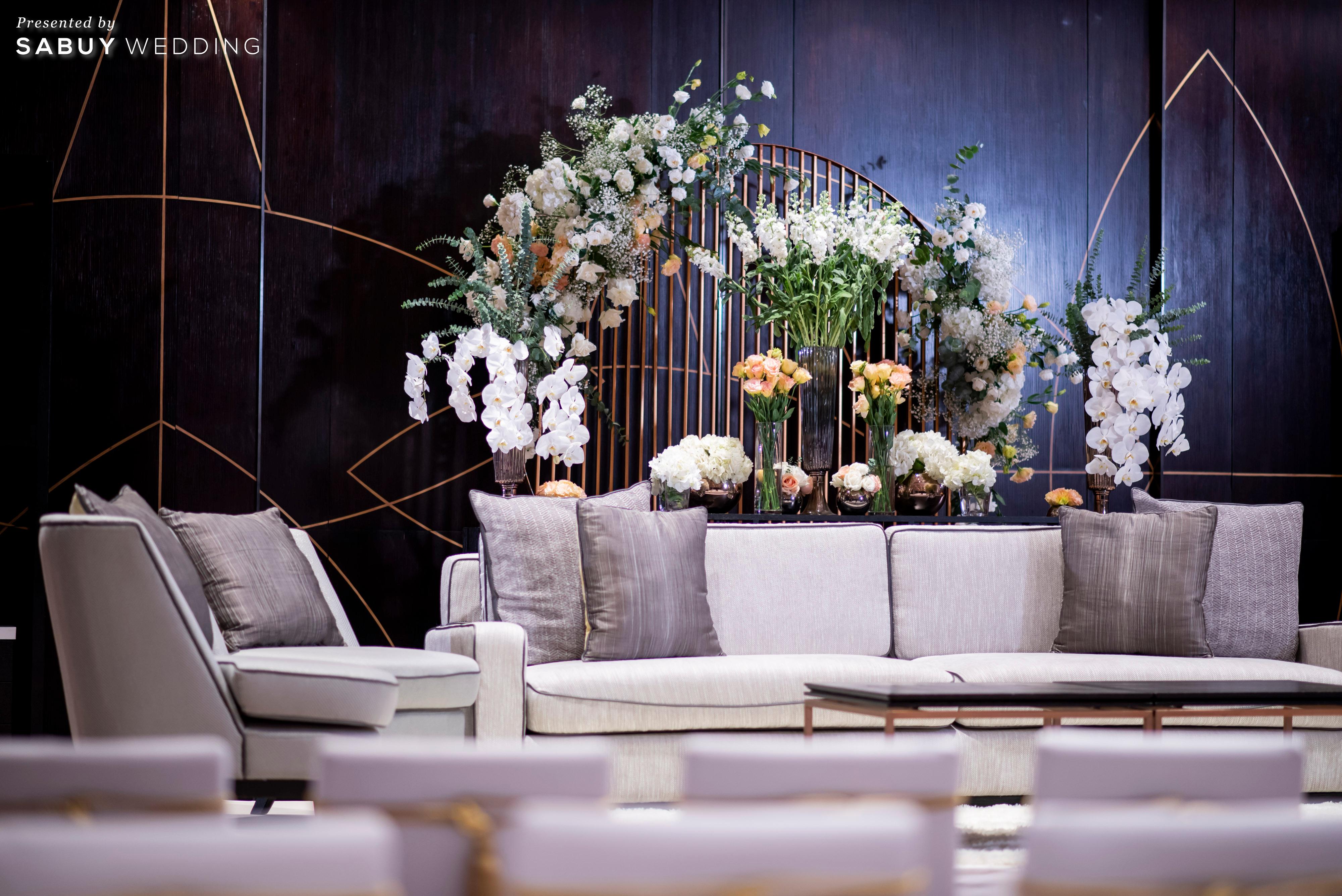 โรงแรม,สถานที่จัดงานแต่งงาน รีวิวงานแต่งธีมสี Taupe สวยดูดีแบบ Luxury Style @ Hyatt Regency Bangkok Sukhumvit