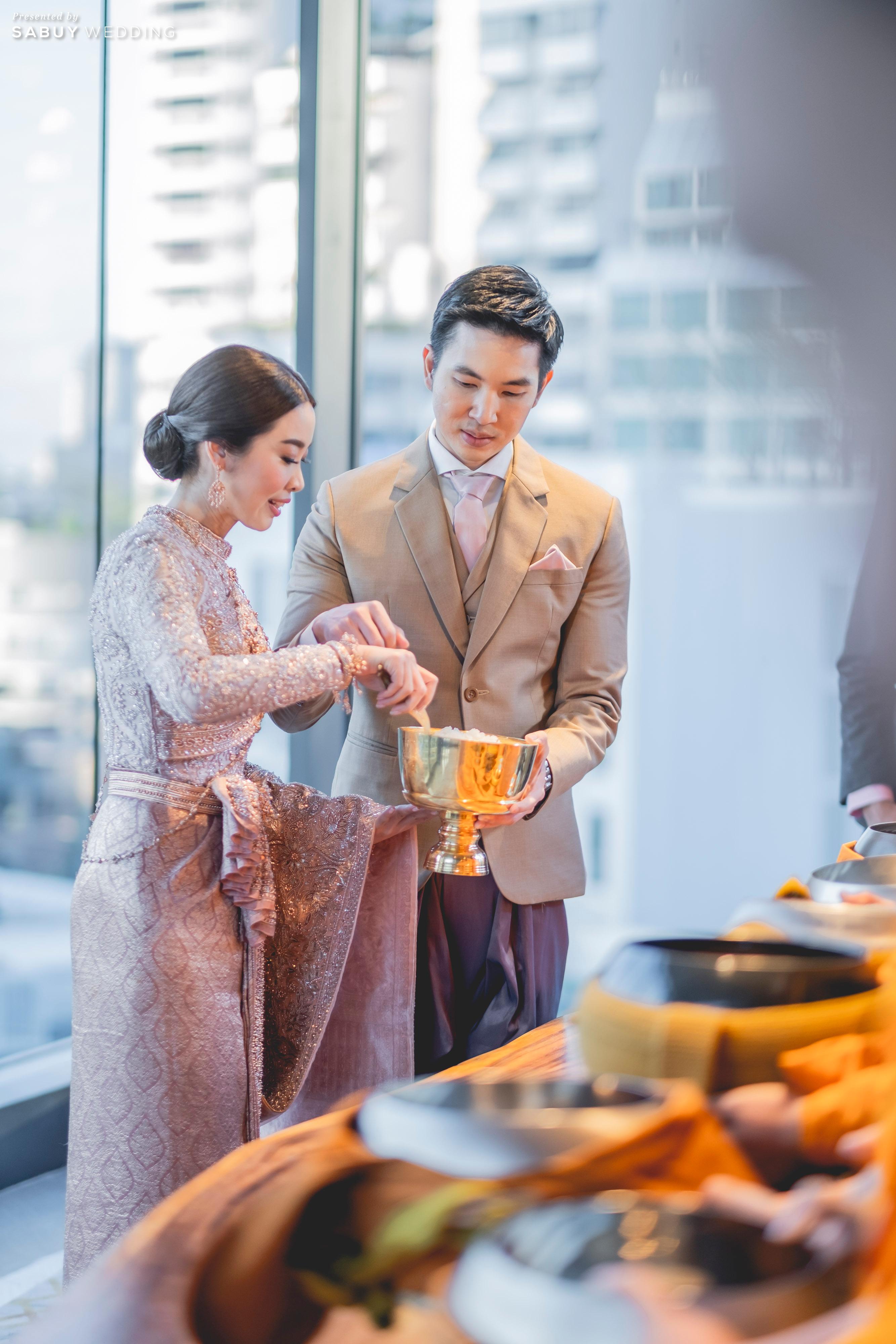 ชุดแต่งงาน,ชุดไทย รีวิวงานแต่งธีมสี Taupe สวยดูดีแบบ Luxury Style @ Hyatt Regency Bangkok Sukhumvit