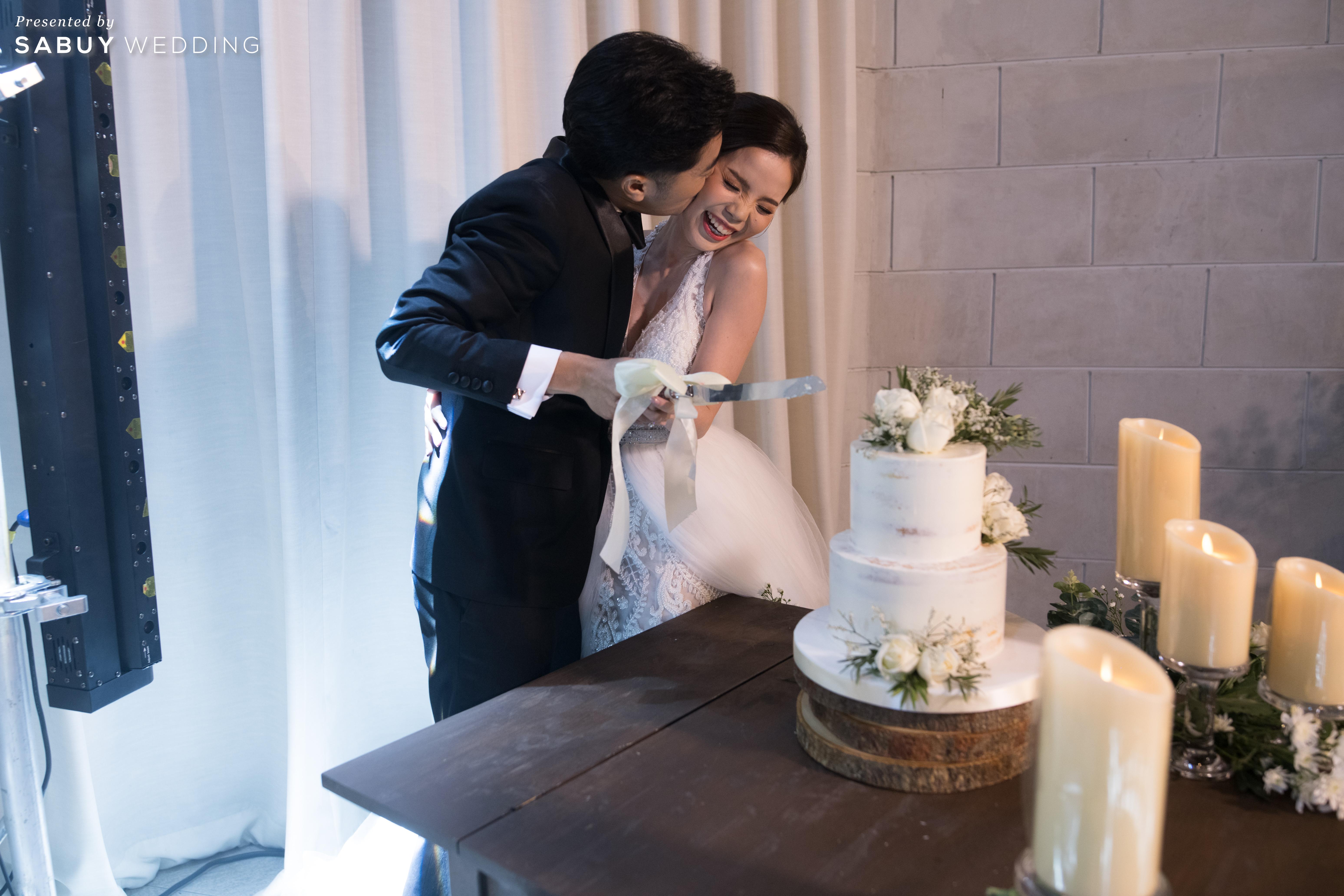 เค้กแต่งงาน รีวิวงานแต่งสุดชิค สวยมีกิมมิค ดู Timeless @ VARAVELA
