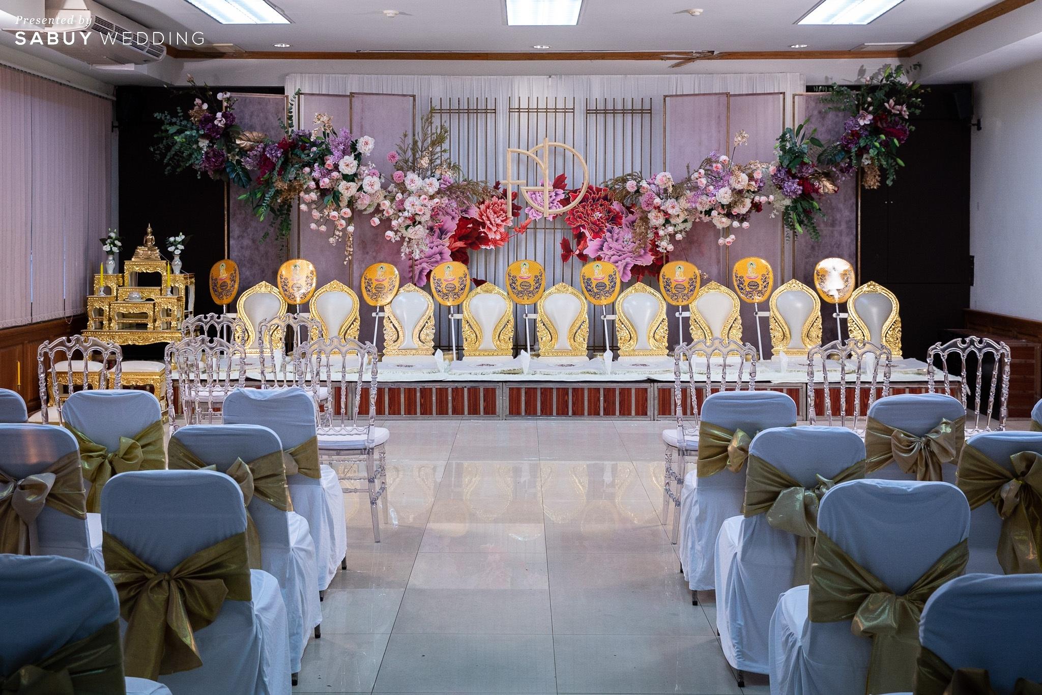 ตกแต่งงานแต่งงาน,ออแกไนเซอร์ รีวิวงานแต่ง 2 สถานที่ สวยดูดีสไตล์ Vintage Chinese Modern @ หอประชุมศาลเจ้าแม่ทับทิม