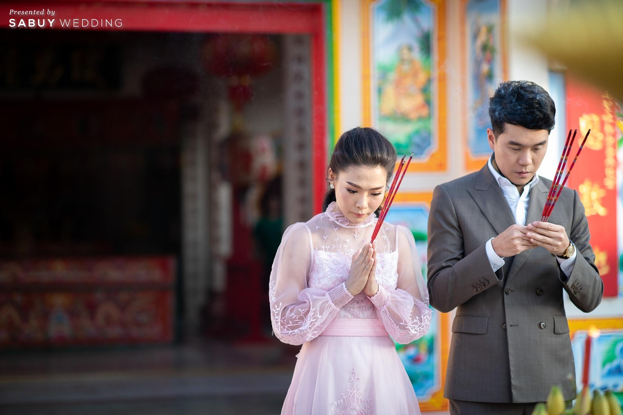 เจ้าบ่าว,เจ้าสาว,แต่งงาน รีวิวงานแต่ง 2 สถานที่ สวยดูดีสไตล์ Vintage Chinese Modern @ หอประชุมศาลเจ้าแม่ทับทิม