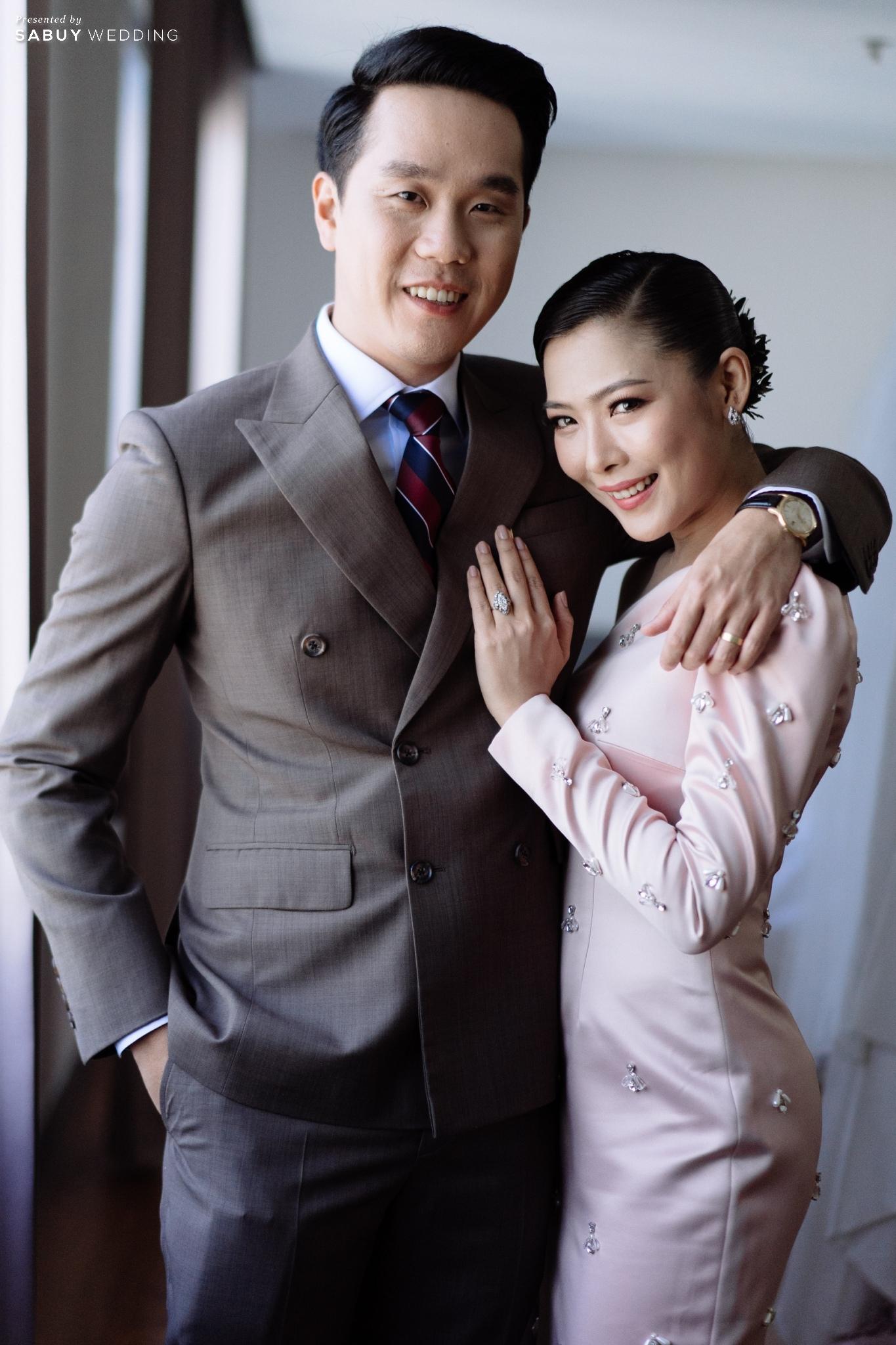ชุดเจ้าสาว,ชุดแต่งงาน,ชุดเจ้าบ่าว รีวิวงานแต่ง 2 สถานที่ สวยดูดีสไตล์ Vintage Chinese Modern @ หอประชุมศาลเจ้าแม่ทับทิม