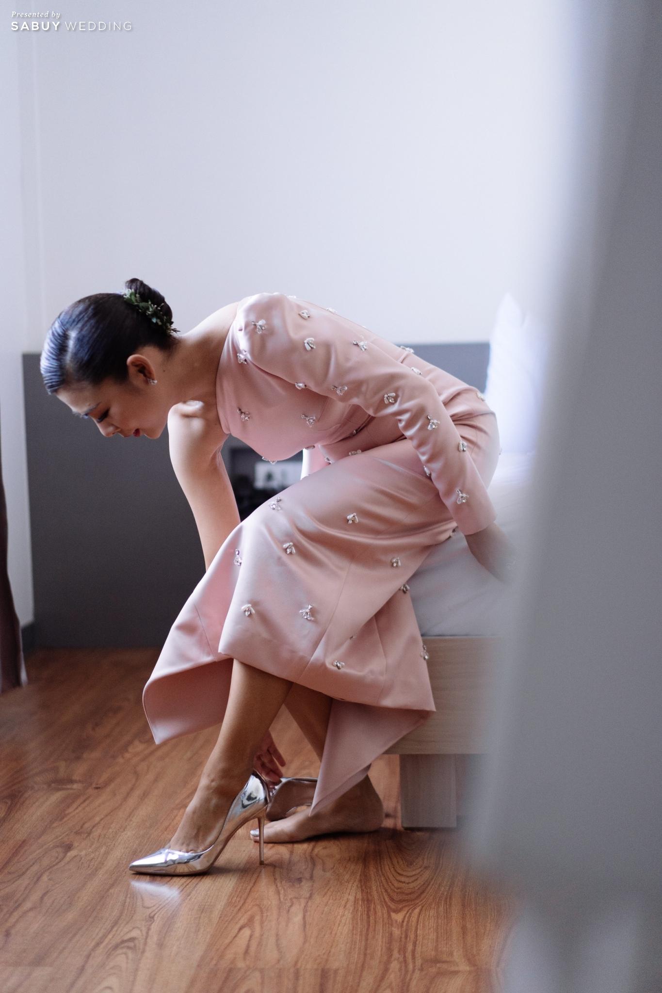 ชุดเจ้าสาว รีวิวงานแต่ง 2 สถานที่ สวยดูดีสไตล์ Vintage Chinese Modern @ หอประชุมศาลเจ้าแม่ทับทิม