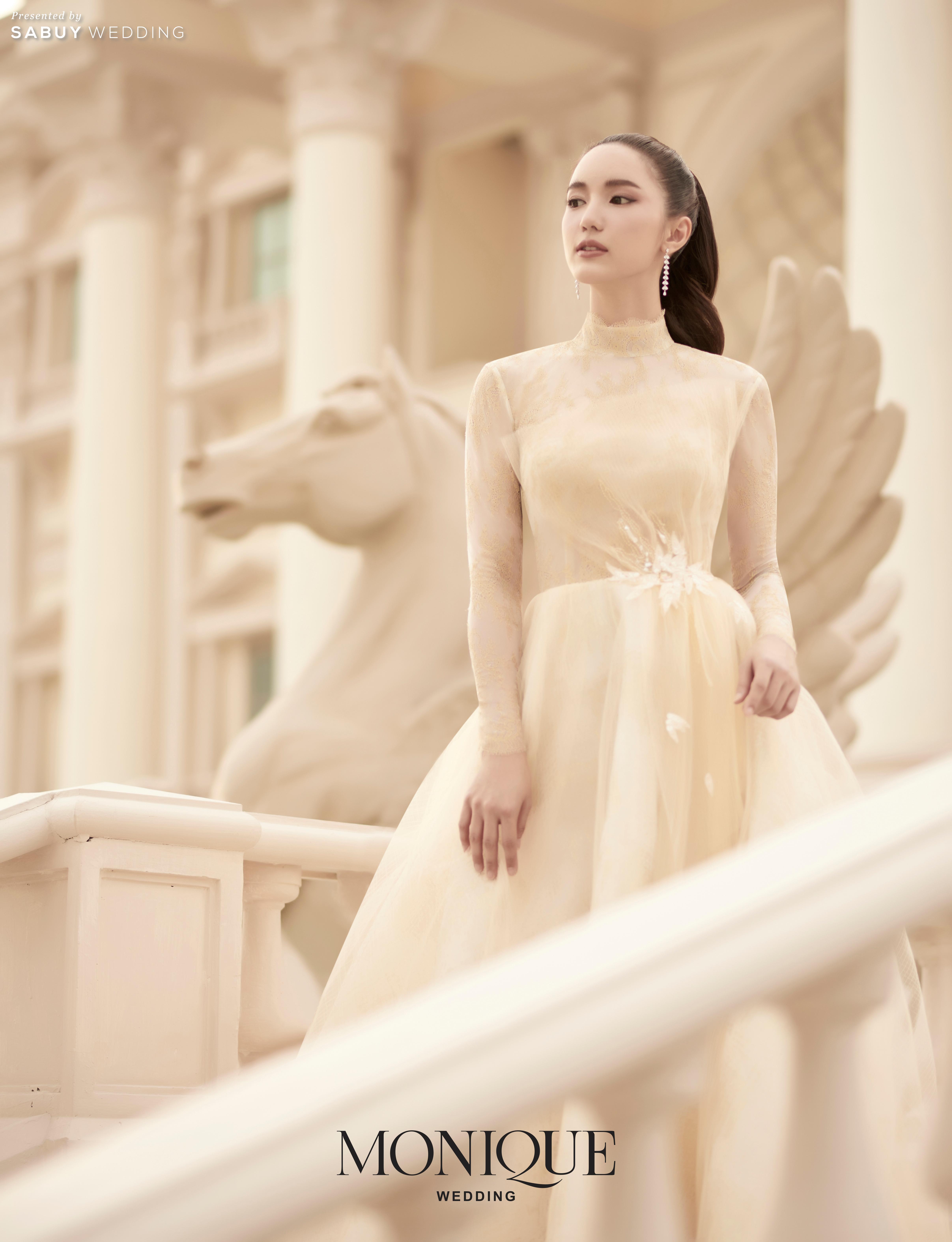 ตอบโจทย์ทุกลุคเจ้าสาว ด้วยชุดแต่งงานดีไซน์สวย Collection ใหม่ By MONIQUE