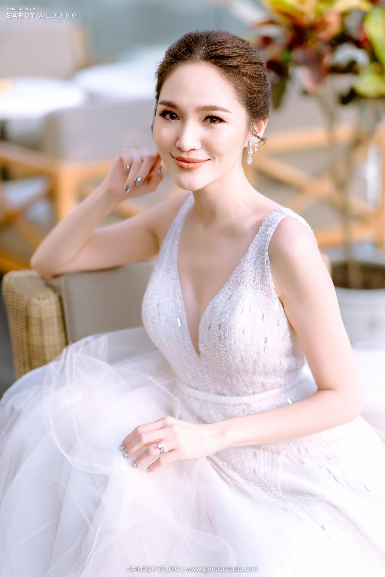เจ้าสาว,ชุดแต่งงาน,ชุดเจ้าสาว รีวิวงานแต่งมินิมอลสไตล์ สวยสบายตาด้วยโทนสีขาวคลีน @ Sofitel Bangkok Sukhumvit