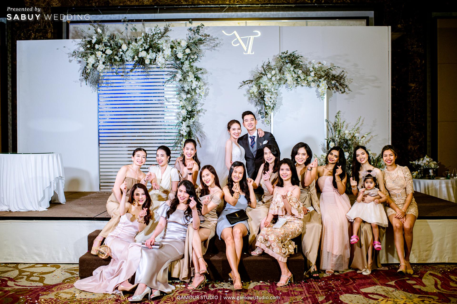 ตกแต่งงานแต่ง,ออแกไนเซอร์,เจ้าบ่าว,เจ้าสาว รีวิวงานแต่งมินิมอลสไตล์ สวยสบายตาด้วยโทนสีขาวคลีน @ Sofitel Bangkok Sukhumvit