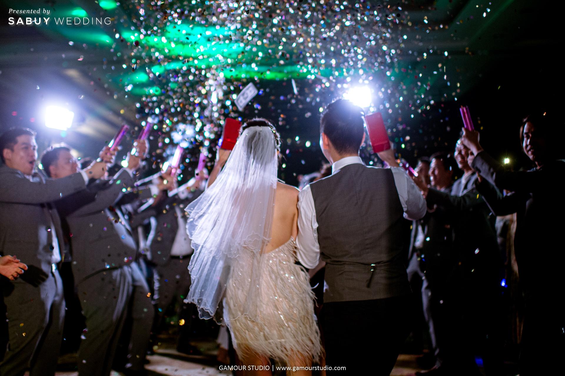 อาฟเตอร์ปาร์ตี้ รีวิวงานแต่งมินิมอลสไตล์ สวยสบายตาด้วยโทนสีขาวคลีน @ Sofitel Bangkok Sukhumvit