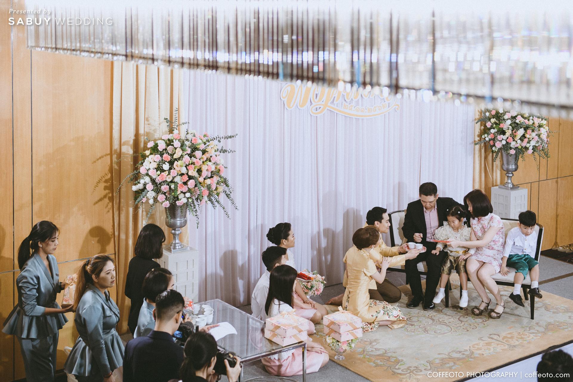 รีวิวงานแต่งสวยละมุนด้วย White Flowers และห้องหมั้นติดบรรยากาศสวน @Renaissance Bangkok Ratchaprasong Hotel