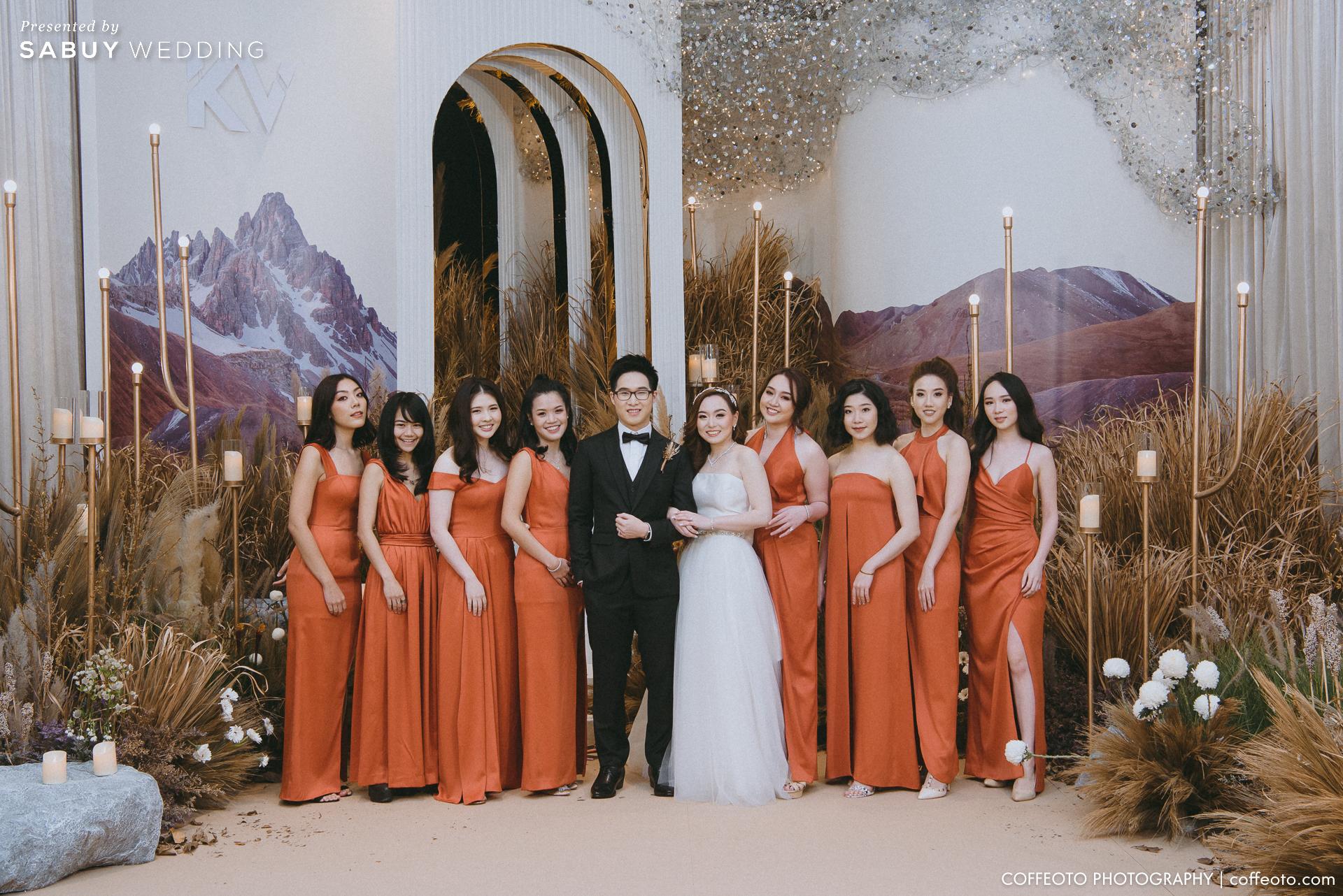 ชุดแต่งงาน,ชุดเจ้าสาว,ชุดเพื่อนเจ้าสาว รีวิวงานแต่งโรแมนติก จำลองหมู่บ้าน Cotswold ของอังกฤษมาไว้ในงาน @ Hotel Nikko Bangkok