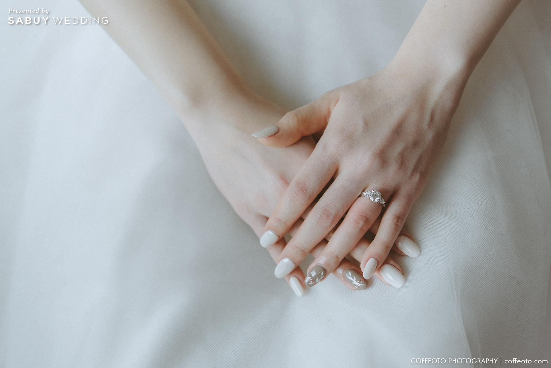 แหวนแต่งงาน รีวิวงานแต่งโรแมนติก จำลองหมู่บ้าน Cotswold ของอังกฤษมาไว้ในงาน @ Hotel Nikko Bangkok