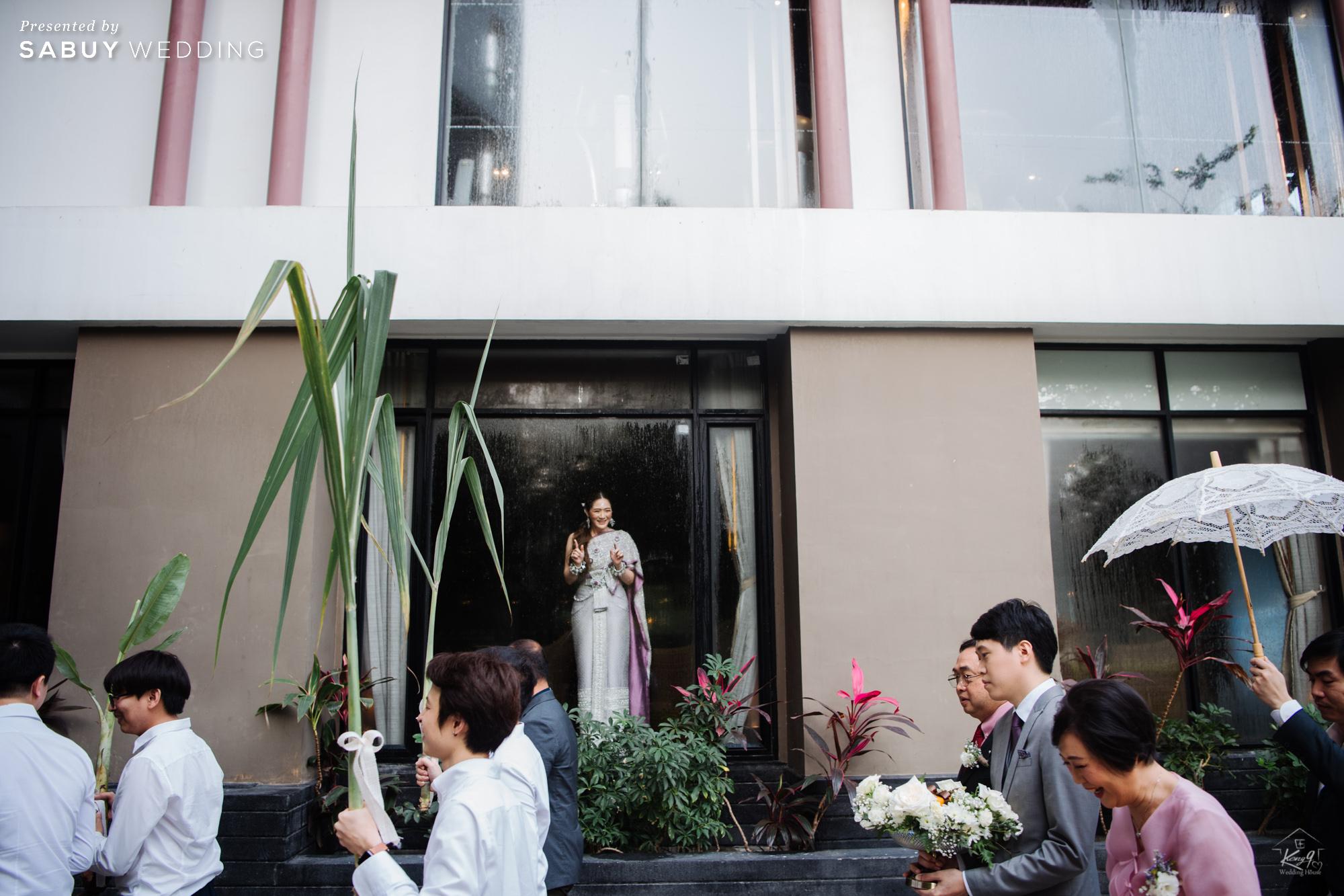 รีวิวงานแต่งสุดละมุน ด้วยธีมทุ่งดอก Lavender @ เลอ เมอริเดียน สุวรรณภูมิ