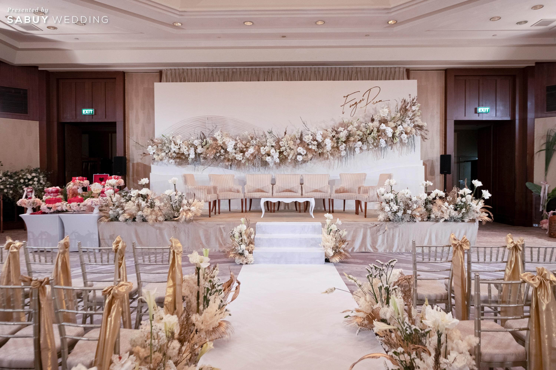 ตกแต่งงานแต่งงาน,สถานที่จัดงานแต่งงาน,โรงแรม รีวิวงานแต่งริมน้ำชวนฝัน สวยอลังการ ได้งานครบทุกพิธี @The Peninsula Bangkok