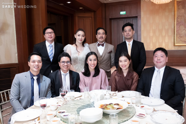 งานแต่งงาน รีวิวงานแต่งริมน้ำชวนฝัน สวยอลังการ ได้งานครบทุกพิธี @The Peninsula Bangkok