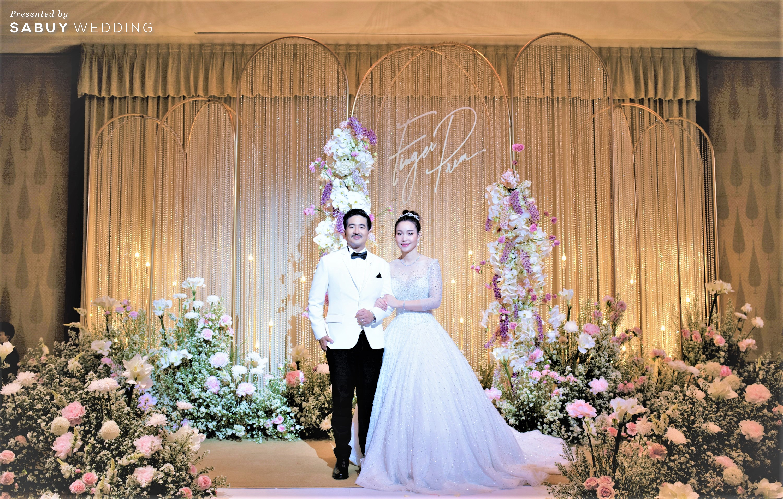 ชุดแต่งงาน,เจ้าบ่าว,สถานที่จัดงานแต่งงาน,โรงแรม รีวิวงานแต่งริมน้ำชวนฝัน สวยอลังการ ได้งานครบทุกพิธี @The Peninsula Bangkok