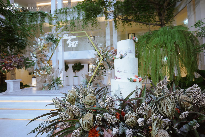 รีวิวงานแต่ง Outdoor บรรยากาศสบาย ในสถานที่ High end @ Bangkok Marriott Hotel The Surawongse