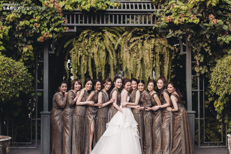 เจ้าสาว,ชุดเพื่อนเจ้าสาว,ชุดแต่งงาน รีวิวงานแต่งสวยสไตล์ธรรมชาติ บรรยากาศอบอุ่นใจกลางเมือง @ The Botanical House Bangkok