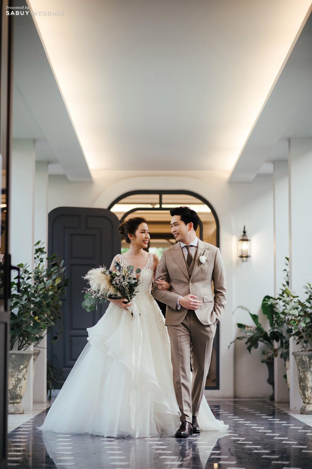 ชุดแต่งงาน,สถานที่แต่งงาน,สถานที่จัดงานแต่งงาน รีวิวงานแต่งสวยสไตล์ธรรมชาติ บรรยากาศอบอุ่นใจกลางเมือง @ The Botanical House Bangkok