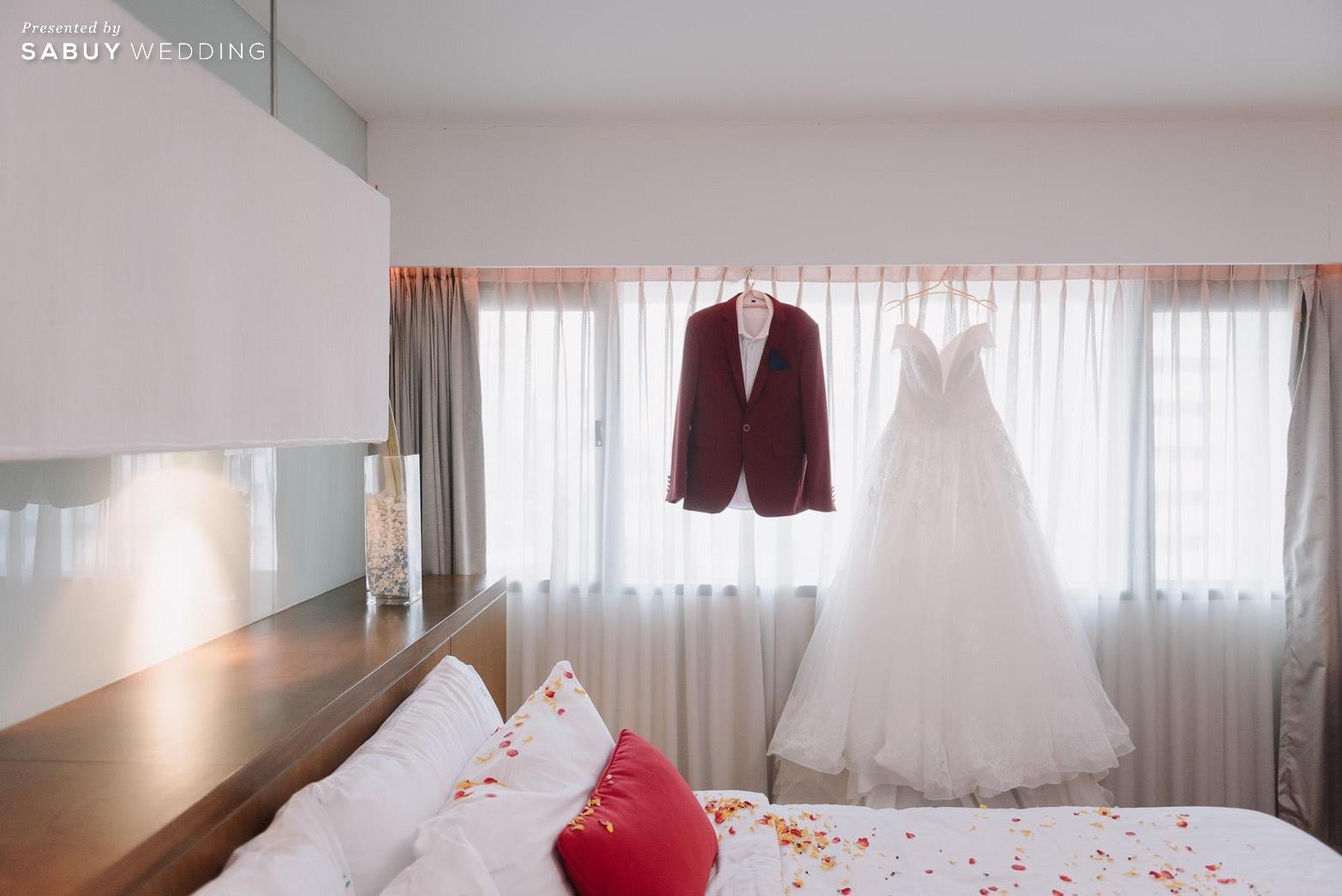 ชุดแต่งงาน,ชุดเจ้าสาว รีวิวงานแต่งหมั้นฉลอง ในห้องบอลรูมโฉมใหม่!! @ Narai Hotel