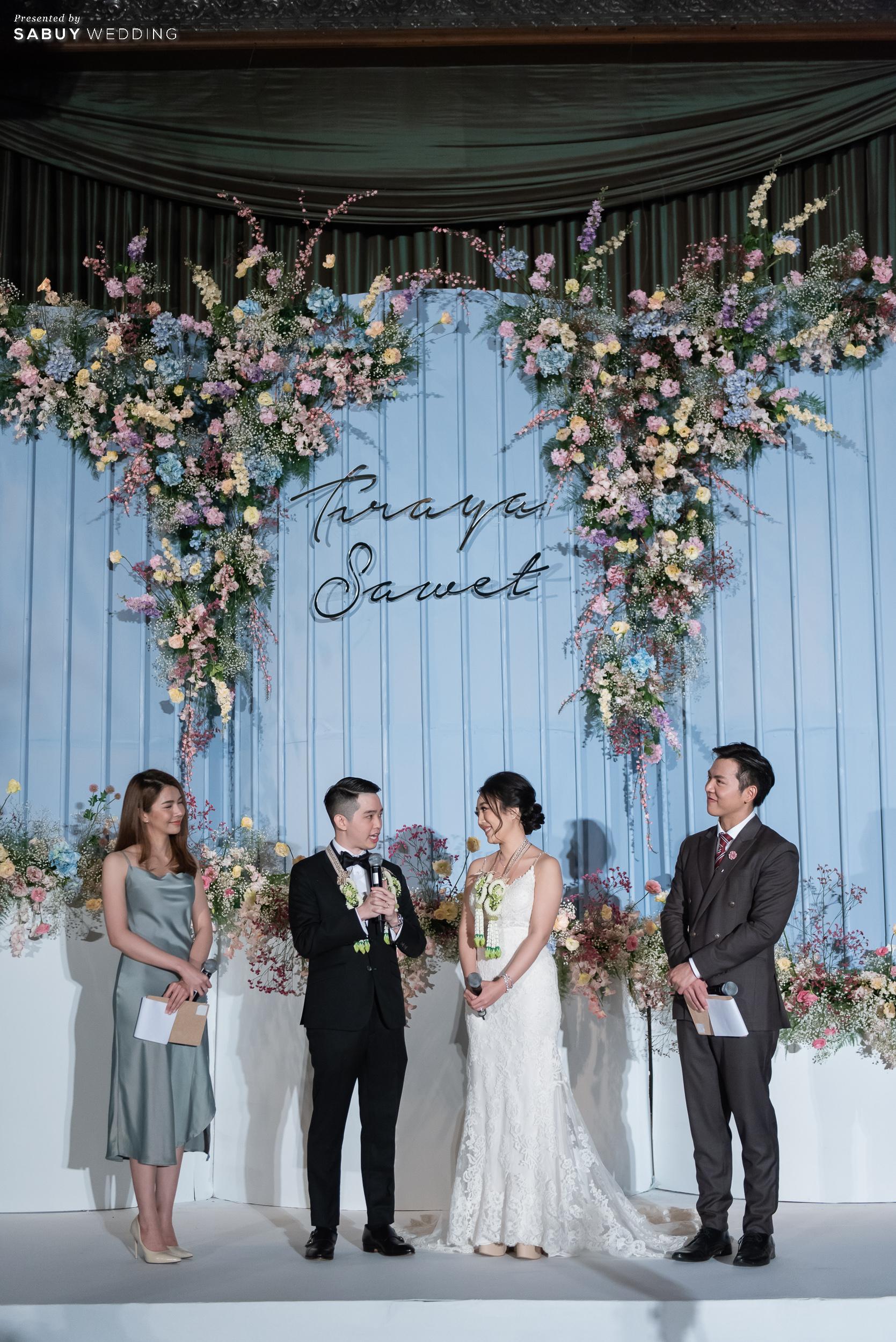 งานแต่งงาน รีวิวงานแต่งสุด Classy ด้วยธีมสี Slate Blue และคริสตัล @ Grand Hyatt Erawan Bangkok