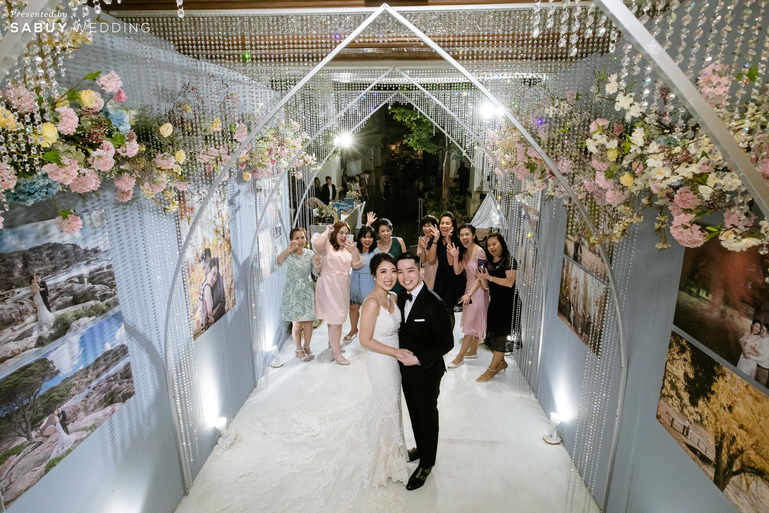 ตกแต่งงานแต่งงาน,ออแกไนเซอร์ รีวิวงานแต่งสุด Classy ด้วยธีมสี Slate Blue และคริสตัล @ Grand Hyatt Erawan Bangkok