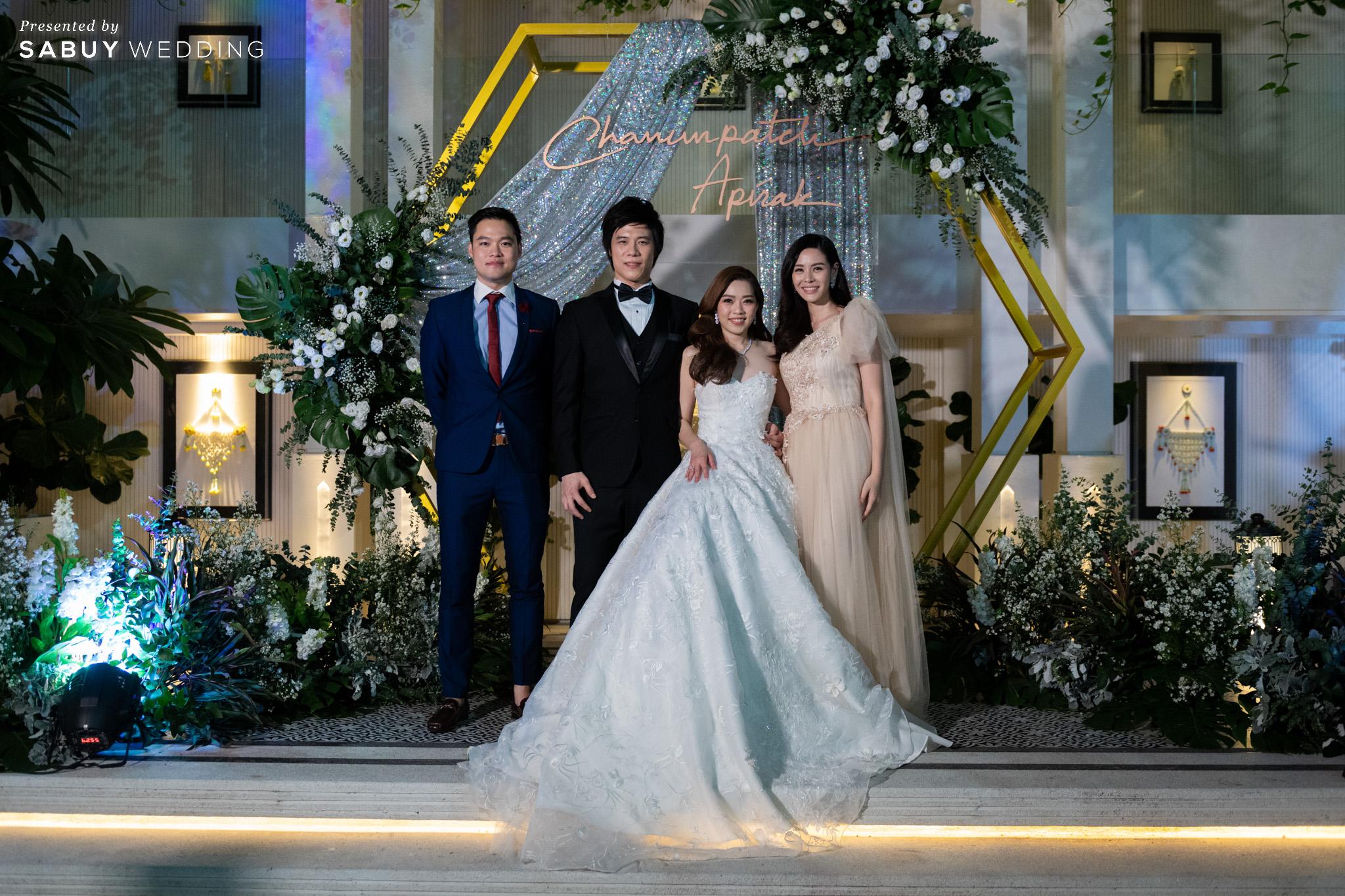 รีวิวงานแต่งในพื้นที่ 2 สไตล์ จัดได้ทั้ง Ballroom & Garden @Bangkok Marriott Hotel The Surawongse