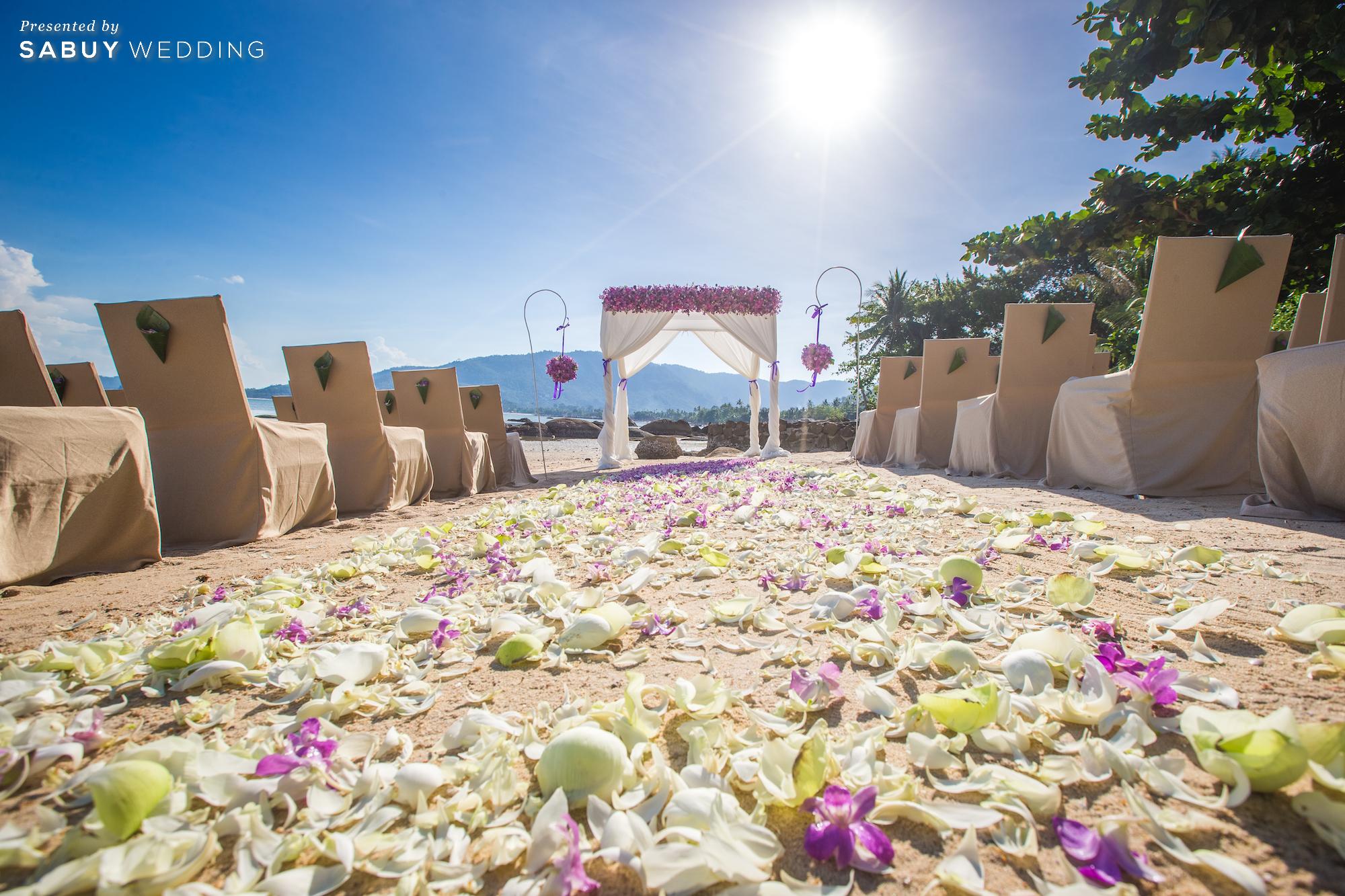 RENAISSANCE KOH SAMUI RESORT & SPA,Marriott Wedding Thailand,แมริออท ประเทศไทย,สถานที่แต่งงาน,สถานที่จัดงานแต่งงาน,โรงแรม,งานแต่งงาน,งานแต่ง outdoor,งานแต่งริมทะเล,งานแต่งชายทะเล ครบทุกความต้องการของบ่าวสาว กับ 40 สถานที่แต่งงานในเครือ Marriott