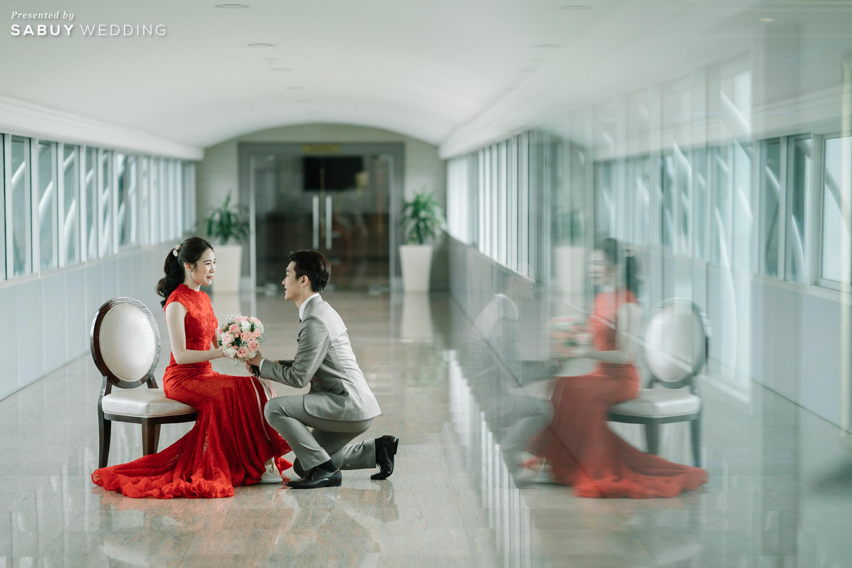 เจ้าบ่าว,เจ้าสาว รีวิวงานแต่งเช้าเลี้ยงเย็นไซส์ใหญ่ จัดงานสุดเซอร์ไพรส์ได้ใจแขก @ The Berkeley Hotel Pratunam