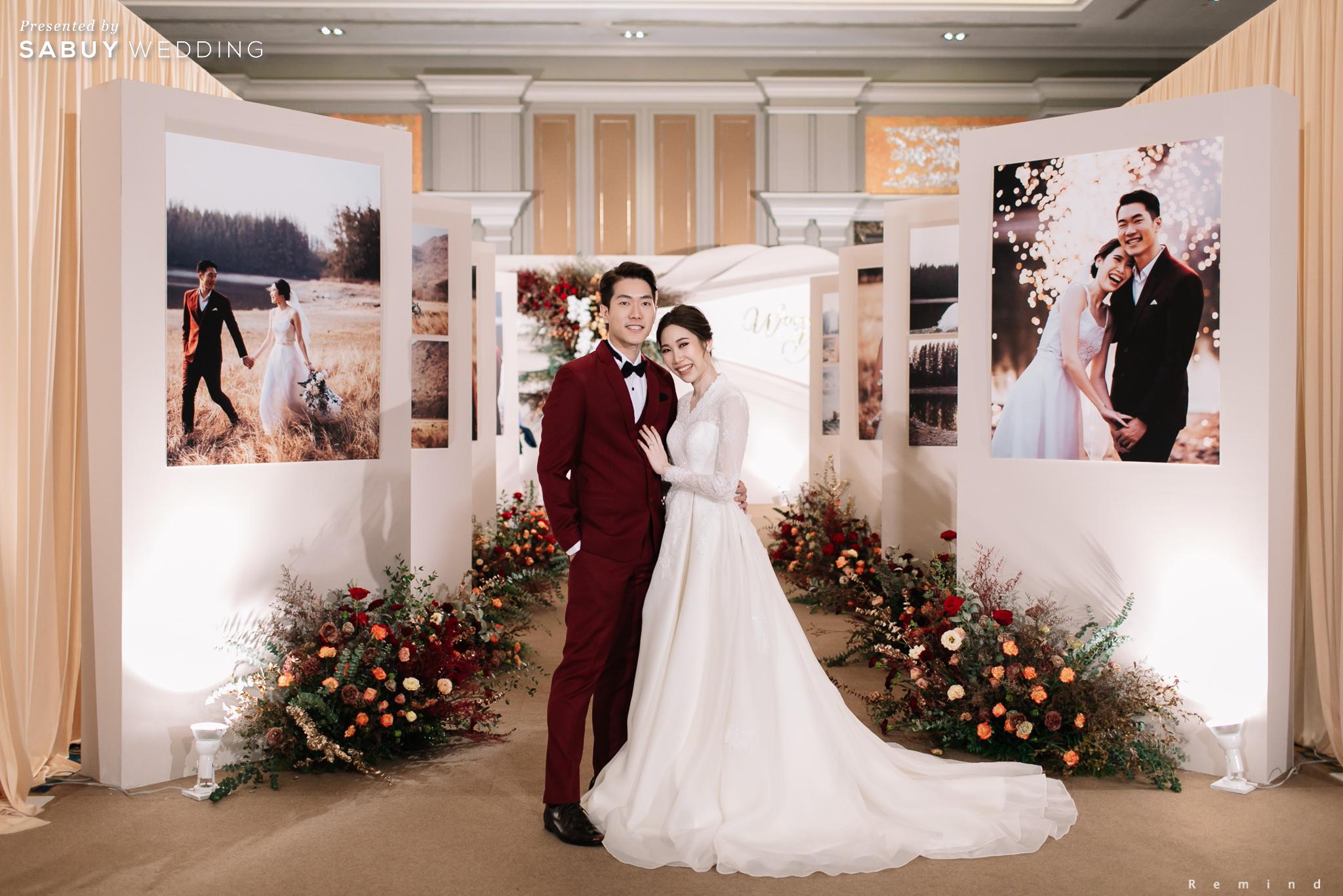 ตกแต่งงานแต่งงาน รีวิวงานแต่งเช้าเลี้ยงเย็นไซส์ใหญ่ จัดงานสุดเซอร์ไพรส์ได้ใจแขก @ The Berkeley Hotel Pratunam
